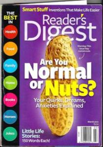 Readers' Digest Are you Normal or Nuts? cover image
